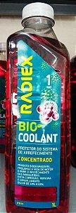 Aditivo Radiex Radiador Bio Coolant Rosa CONCENTRADO Organico