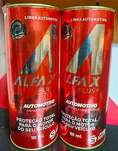 Kit 2 Frascos  Alfa-x Plus Condicionador De Metais Supera Militec 1 E Molykote