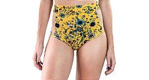 Hot Pants Tule - Abacaxi - Amarelo