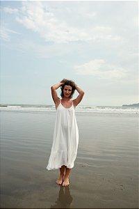 Vestido Alça - Off White