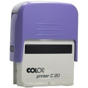 Carimbo Colop Printer 20 - Lilás