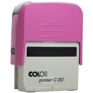 Carimbo Colop Printer 20 - Rosa