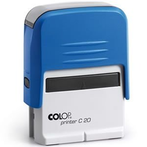 Carimbo Colop Printer 20 - Azul