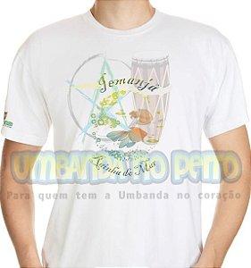 Camiseta Salve Iemanjá