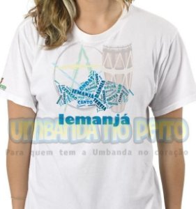 Camiseta Iemanjá Mamãe