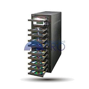 Duplicadora de DVD e Cd com 10 Gravadores - Pioneer