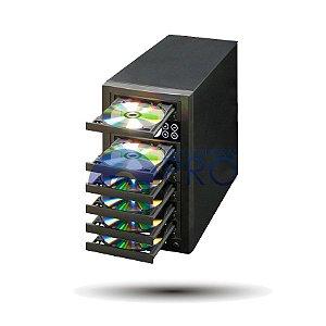 Duplicadora de DVD e Cd com 6 Gravadores - Pioneer