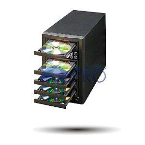 Duplicadora de DVD e Cd com 5 Gravadores - Pioneer