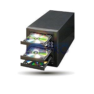 Duplicadora de DVD e Cd com 3 Gravadores - Pioneer