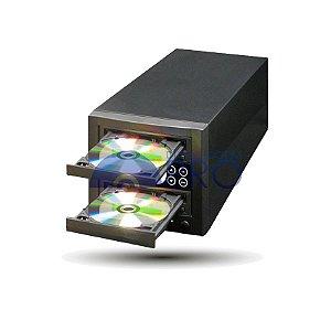 Duplicadora de DVD e Cd com 2 Gravadores - Pioneer