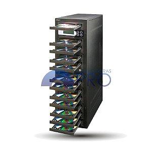 Duplicadora de DVD e Cd com 12 Gravadores - Pioneer