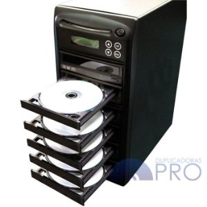 Duplicadora de DVD e Cd com 6 Gravadores - Grava Midias Dual Layer até 8.5GB - Samsung