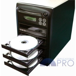 Duplicadora de DVD e Cd com 4 Gravadores - Grava Midias Dual Layer até 8.5GB - Samsung