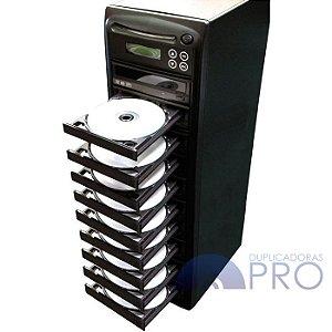 Duplicadora de DVD e Cd com 10 Gravadores - Grava Midias Dual Layer até 8.5GB - Samsung