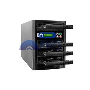 Duplicadora de DVD e CD com 4 Gravadores Sony 5280s
