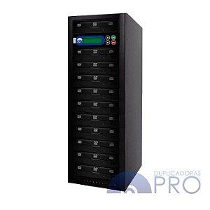 Duplicadora de DVD e CD com 11 Gravadores - Philips / Lite-on