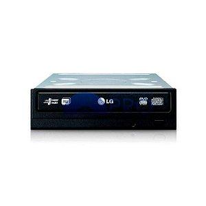 Gravador de DVD e CD LG 24X SATA Preto GH24NSCO