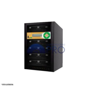 Duplicadora de DVD e CD com 5 Gravadores Philips / Lite-on + Controladora LSK 2000