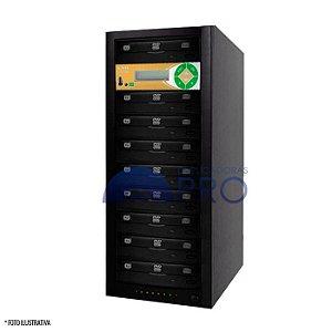 Duplicadora de DVD e CD com 9 Gravadores Philips / Lite-on + Controladora LSK 2000
