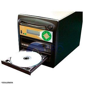 Duplicadora de DVD e CD com 02 Samsung + Controladora LSK 2000