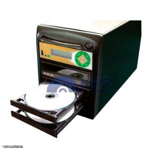 Duplicadora de DVD e CD com 03 Samsung + Controladora LSK 2000