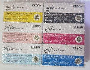 Epson 6 Cartucho De Tinta De Cor Definido Para Pp-100 Discproducer