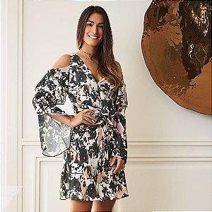 Vestido Seda Print