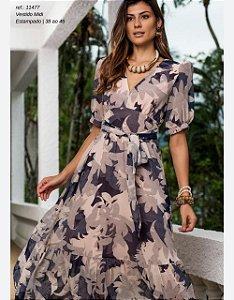 Vestido Fluído Print Floral