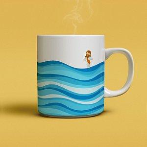 Caneca Sobre as Águas