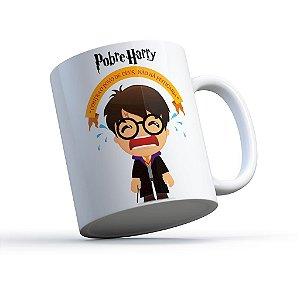 """Caneca """"Pobre Harry"""""""
