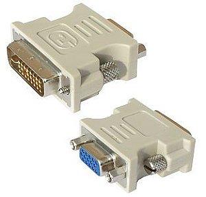 Adaptador DVI x VGA 24+5