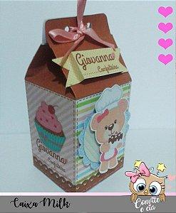 Caixa Milk Ursinha Confeiteira