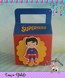 Caixa Gable Super Homem