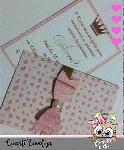 Convite Envelope com Laço