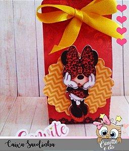 Caixa Sacolinha Minnie