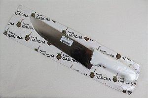 Faca Para Churrasco Fabrica Gaucha Inox Cabo Polietileno 9 Pol