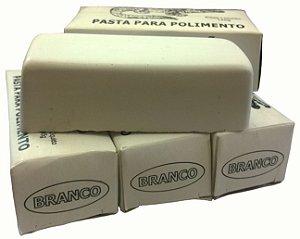 Massa De Polir Alumínio Aço Inox Branca Lote Com 5 Unidades