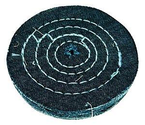 Roda de Jeans Disco de Pano Para Polimento Tamanho 7,5 Cm