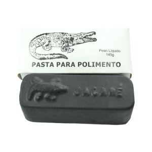 Pasta Para Polimento Aço Ferro Fundido Cor Preta Número 12
