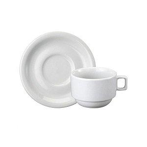 Xícara Chá com Pires Protel 200 ml