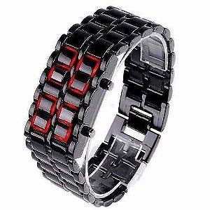 Relógio Iron Samurai Led