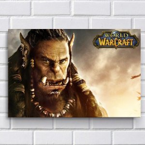 Placa Decorativa - World of Warcraft