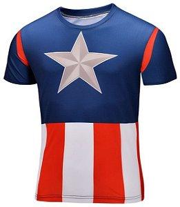 Camisa Capitão América Clássic