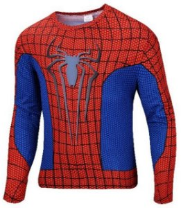 Camisa Homem Aranha Manga Comprida