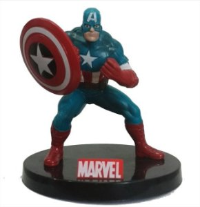 Miniatura Capitão América  - Marvel