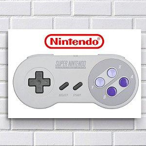 Adesivo - Controle Super Nintendo