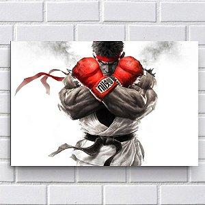 Adesivo - Ryu - Street Fighter