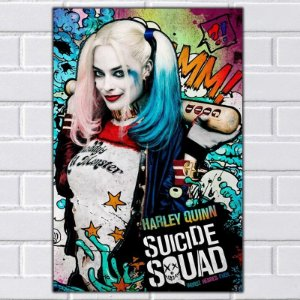 Adesivo - Harley Quinn Movie