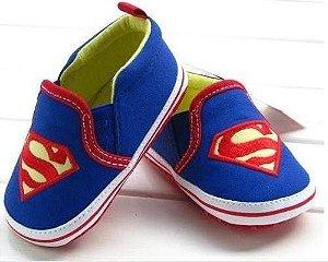 Sapatinho Bebê Super Homem-