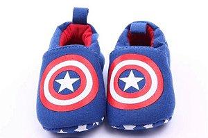 Sapatinho Bebê - Capitão América